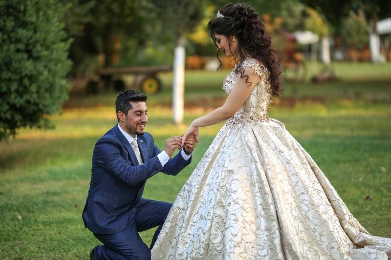 Rojbin ve Mehmet Nişan Dış Mekan Çekimleri