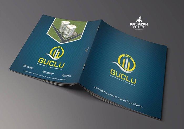 Güçlü Yapı Katalog Tasarım Mockup